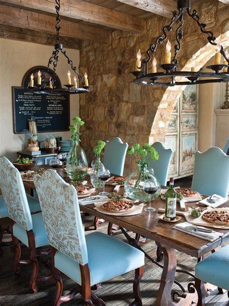 mediterranean dining room  hgtv
