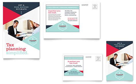 Tax Preparer Brochure Template Design Tax Preparer Website Template