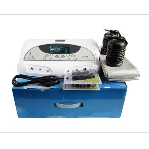 Detoxing Device by 2017 Wholesale Dual Ion Detox Foot Spa Machine Ionic