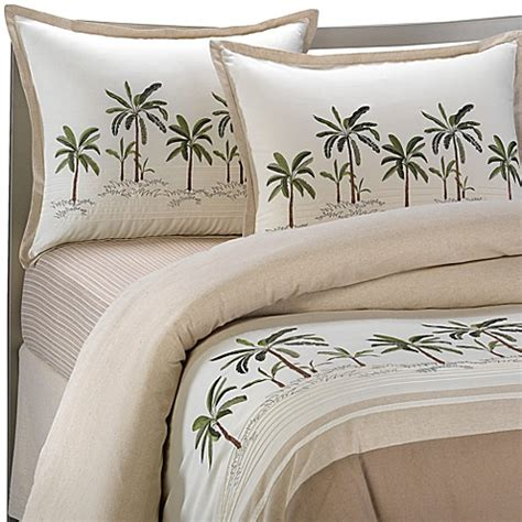 palm tree comforter buy croscill 174 fiji full comforter set from bed bath beyond