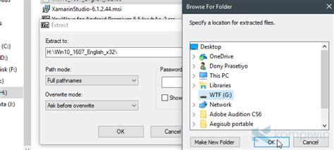 membuat bootable usb lewat cmd cara membuat bootable flashdisk dari file iso untuk instal