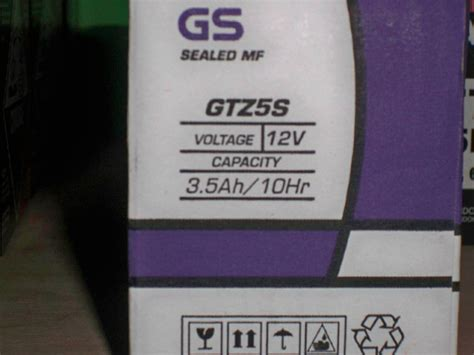 Aki Motor Gtz5s Mf jual aki gs astra kering gtz5s mf untuk segala jenis motor ledeng motor bandung