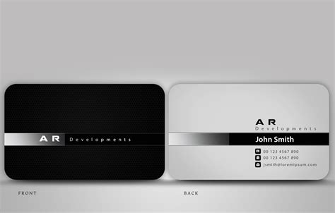 business card design for ben topalov by disign design