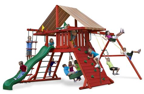 swing set tarps gorilla playsets sun climber i canvas forest green