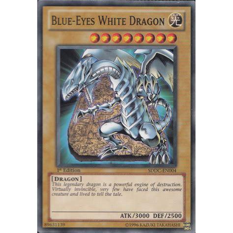 how to make yu gi oh cards yu gi oh card sddc en004 blue white