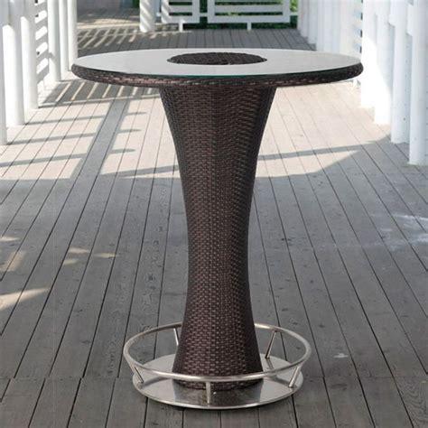 Table Aluminium Exterieur 319 by Tt30 Pour Bars Et Restaurants Table Haute Pour Bars Et