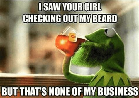 Checking Out Meme - top 60 best funny beard memes bearded humor and quotes