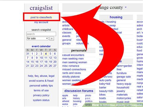 how to advertise on craigslist how to advertise jewelry on craigslist 7 steps with