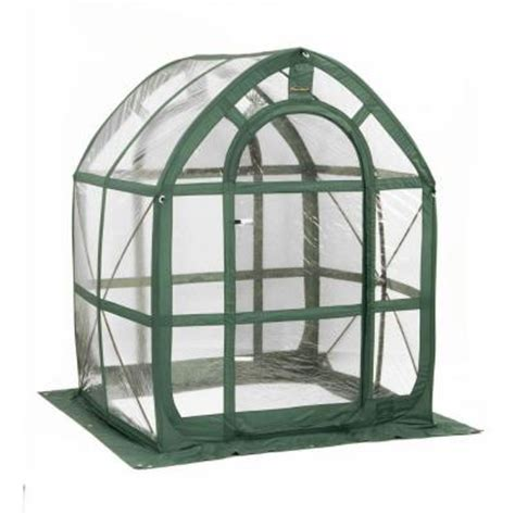 Small Greenhouse Kits Home Depot Flowerhouse Planthouse 5 Ft X 5 Ft Pop Up Greenhouse