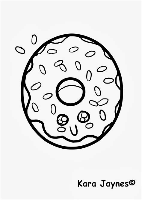 kawaii coloring pages of food cute food coloring pages coloring home