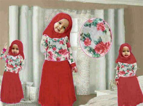 Maxi Aisyah Katun Ld 114 baju gamis anak aisyah kid a774 butik jingga