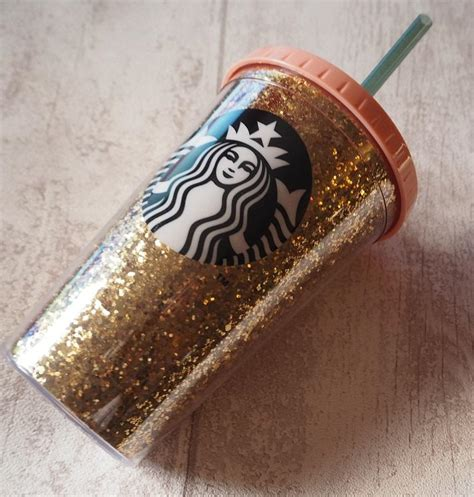 Starbucks Gliter Cold Cup starbucks gold glitter cold cup from a tr