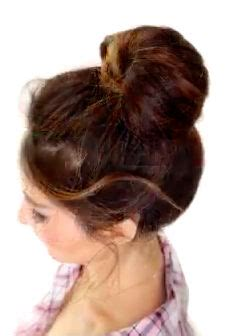 different updo hairstyles 2 minute bubble bun hairstyle 1000 images about girls hair tutorials on pinterest