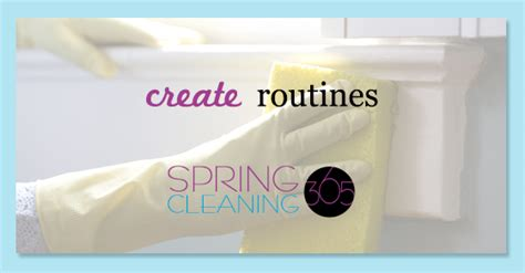 clean habits cleaning habit create routines cleaning 365