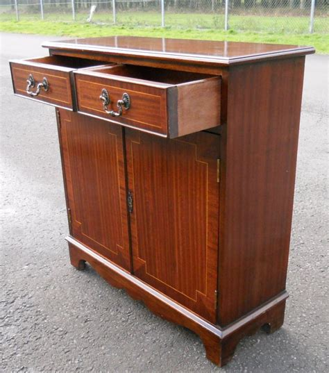 Small Mahogany Sideboard sold small inlaid mahogany sideboard cupboard base