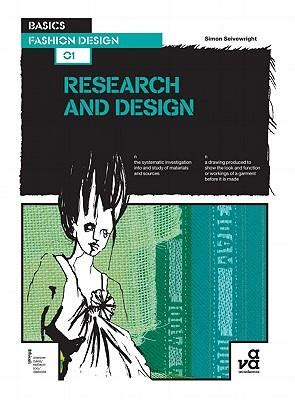 fashion design basics basics fashion design 01 research and design simon