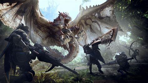 Wallpaper Monster Hunter World, E3 2017, 4K, 8K, Games, #7812