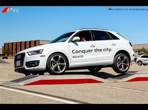 Audi Work Experience 2015 Audi Q3 Driving Experience Course 1