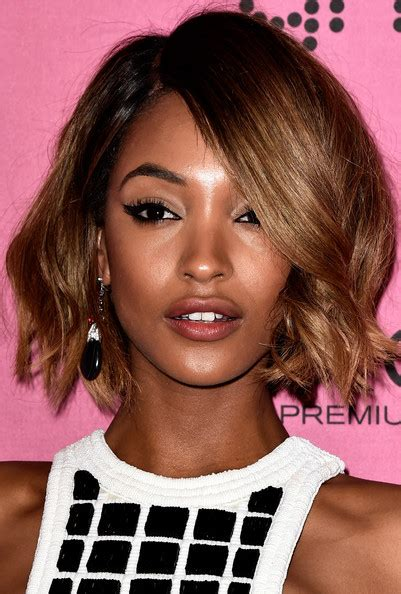 hairstyles party jordan jourdan dunn short wavy cut short hairstyles lookbook