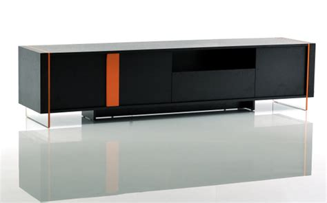modern tv stands modrest vision modern black oak floating tv stand