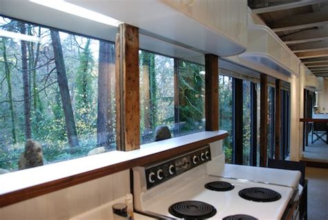 box car house 1949 railroad boxcar converted into a tiny home in the woods tiny house pins