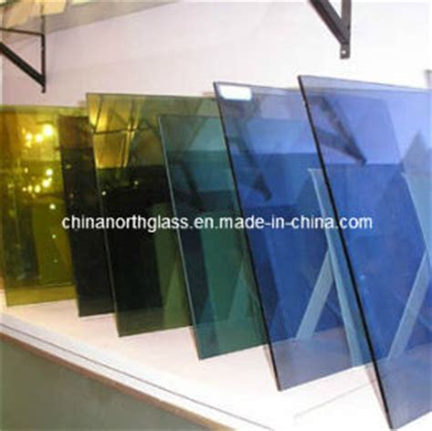 Solar Light Tinted Glass China 6mm Tinted Solar Coated Glass China