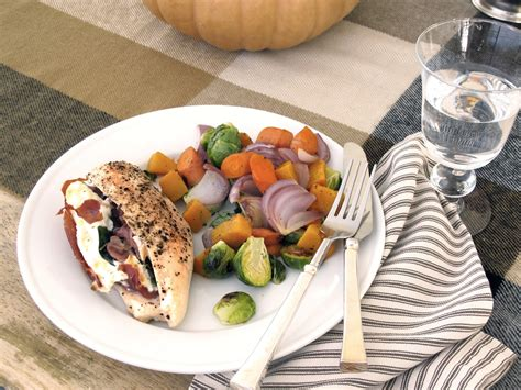 fall entertaining recipes steffens hobick prosciutto goat cheese spinach