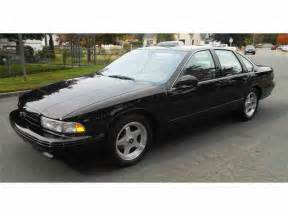 Chevrolet Impala Ss 1994 To 1996 Chevrolet Impala Ss For Sale On Classiccars