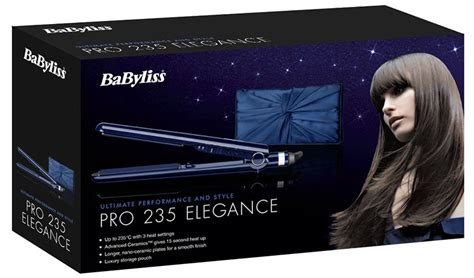 Babyliss Elegance Hair Dryer Best Price babyliss 2098du pro 235 elegance hair straightener review