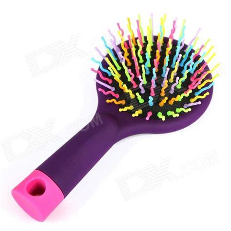 Hair Dryer Rainbow By El Diablos arco iris de color circular cepillo de pelo peine con