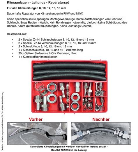 Wieviel Autofolie Für Ein Auto by Klimaanlagen Reparatur Set Automobil Bau Auto Systeme