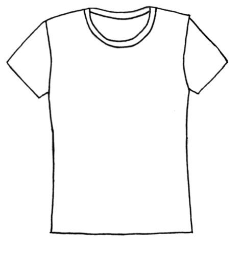shirt pattern drawing shirt shirt templates on blank shirts templates and