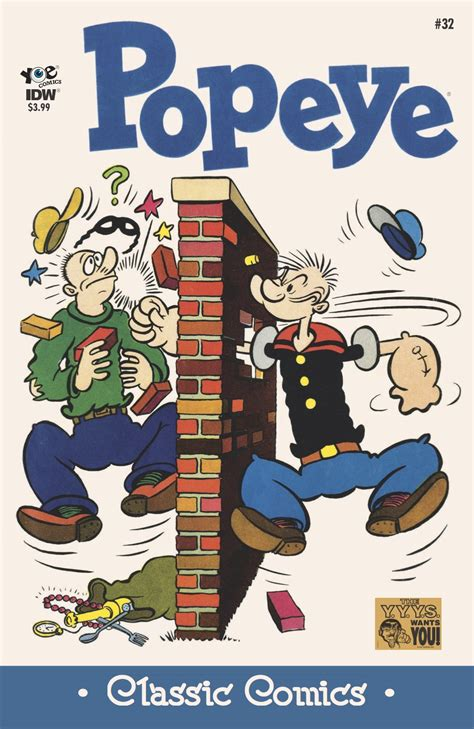 Pop Eye Class by Exclusive Preview Popeye Classic Comics 32 13th
