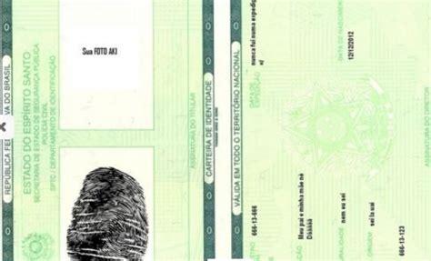 Hårfärg by Conc 243 Rdia N 227 O Imprime Mais A Carteira De Identidade