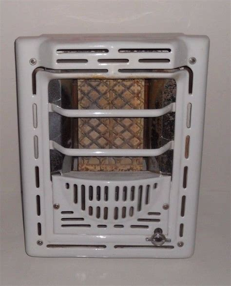 gas bathroom heater vintage peerless art deco white porcelain enamel gas wall