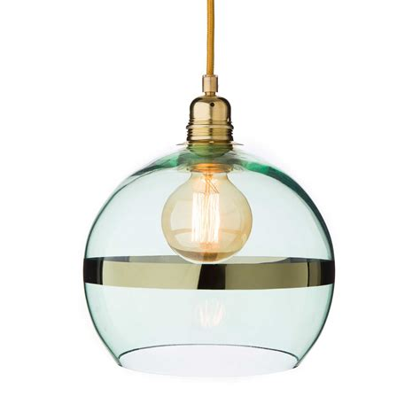 Giveij Pendant L Light Green Brass Pendant Light Green