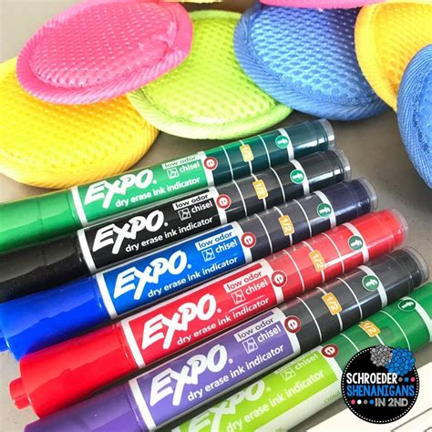 Sprei Expo 34 5 In 1 sight word routines with erase expo markers classroom management