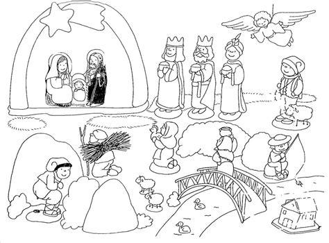 dibujos navideños para colorear portal belen dibujos para imprimir y colorear portal de bel 233 n para