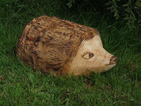Garden Animals Garden Sculpture Wooden Animals Ornamental Hedgehog