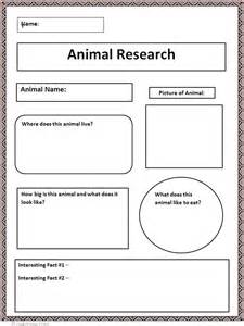 6th Grade Research Paper Graphic Organizer by Common Animal Research Graphic Organizer Lesson