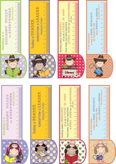 printable motivational bookmarks printable bookmarks country girl boy 3in1 bookmark ruler