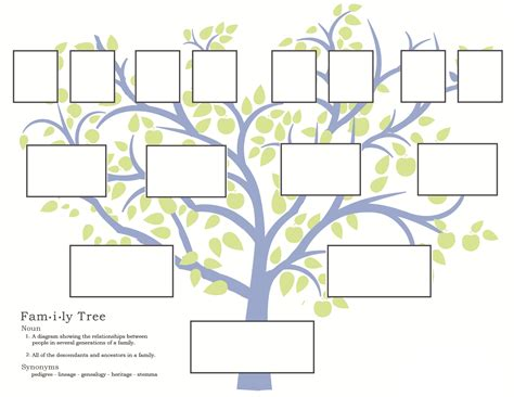 family history activities for children 3 11
