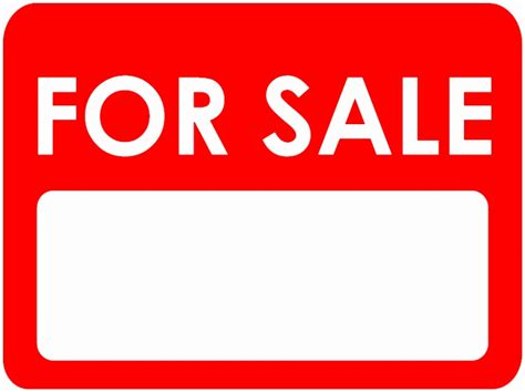 9 printable car for sale sign template aytey templatesz234