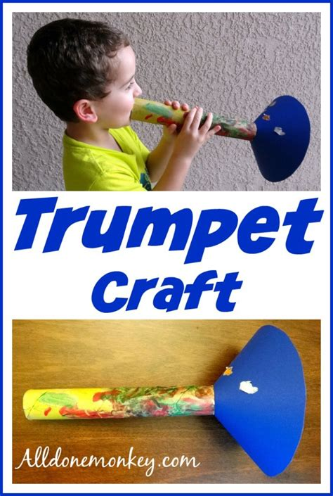 How To Make A Paper Trumpet That Plays - trumpet craft birth of baha u llah trumpets and holidays
