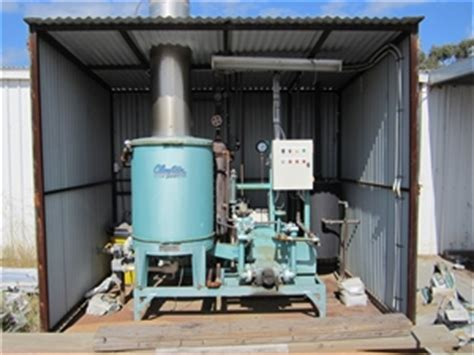 clayton steam generator gas fired type b asset