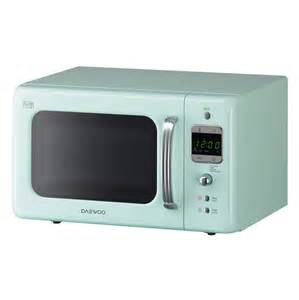 Daewoo Green Microwave Daewoo Kor7lbkm Compact Retro Microwave Oven In Mint Green