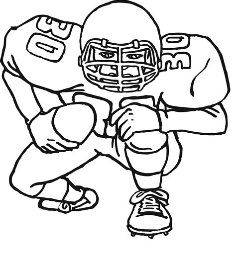 printable coloring pages the football coloring pages free printable football coloring