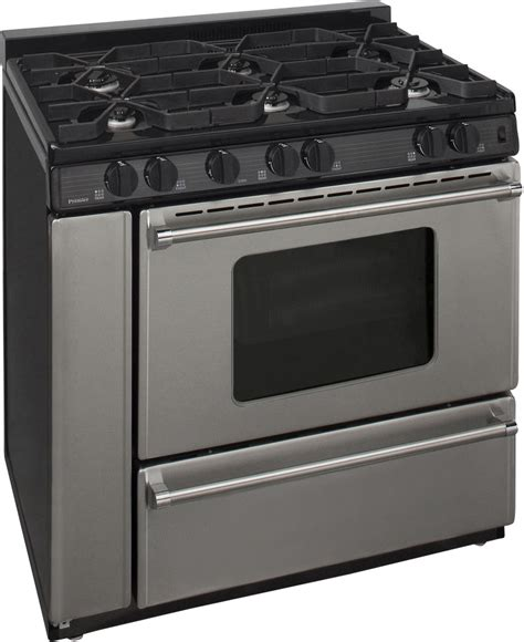 Oven Gas Aluminium premier p36s3182p 36 inch freestanding gas range with 6