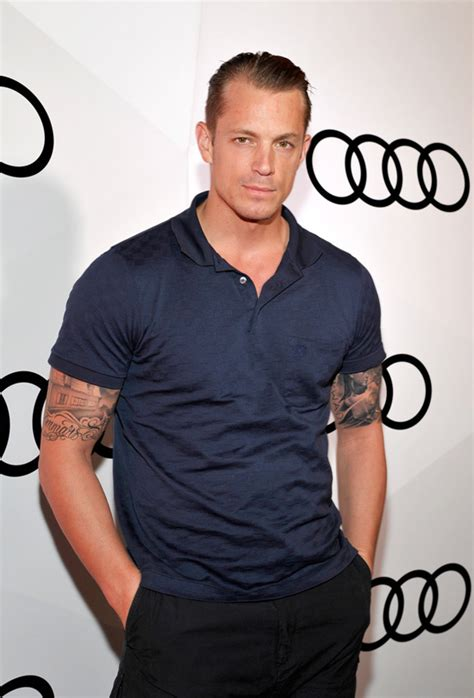 House Style by Joel Kinnaman At The Audi Celebrates The 68th Emmys Event