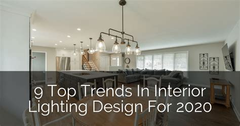 top trends  interior lighting design   home